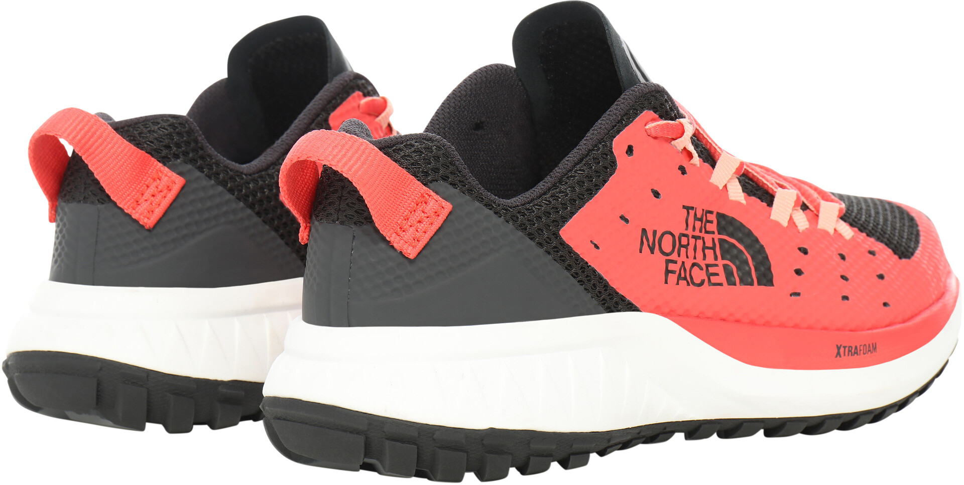 The North Face Ultra Endurance XF Sko Damer, asphalt greycayenne red